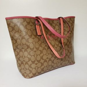 Coach Bags - Coach Signature Leather Tote